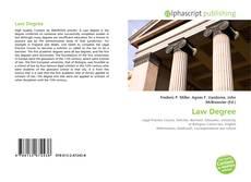 Обложка Law Degree