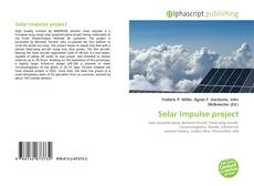 Buchcover von Solar Impulse project