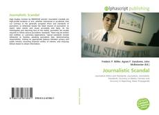 Bookcover of Journalistic Scandal