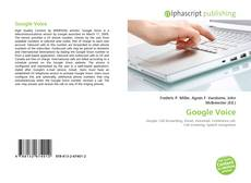 Bookcover of Google Voice