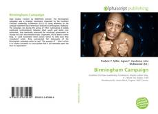 Bookcover of Birmingham Campaign