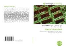 Bookcover of Mason's Invariant