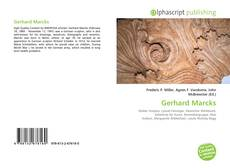 Bookcover of Gerhard Marcks