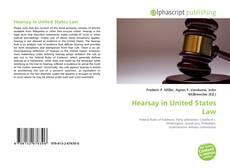 Hearsay in United States Law的封面
