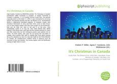 It's Christmas in Canada kitap kapağı