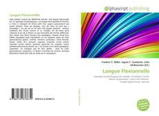 Couverture de Langue Flexionnelle
