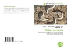 Borítókép a  Basque surnames - hoz