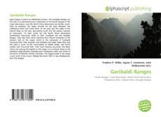 Garibaldi Ranges kitap kapağı
