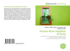 Bookcover of Princess Marie Joséphine of Savoy