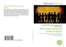 Capa do livro de Intervention (Buffy the Vampire Slayer)