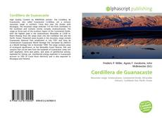 Bookcover of Cordillera de Guanacaste