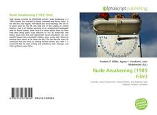 Capa do livro de Rude Awakening (1989 Film)