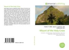 Обложка Mount of the Holy Cross