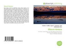 Mount Antero的封面