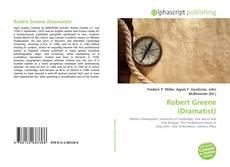 Buchcover von Robert Greene (Dramatist)