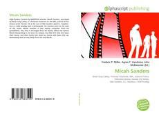Micah Sanders kitap kapağı