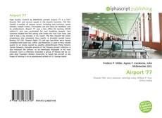 Capa do livro de Airport '77