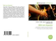 Bookcover of Bob van Asperen