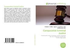 Portada del libro de Comparative Criminal Justice