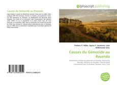Portada del libro de Causes du Génocide au Rwanda
