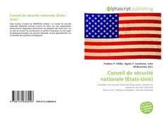 Bookcover of Conseil de sécurité nationale (États-Unis)