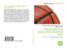 Borítókép a  1989–90 Oklahoma Sooners Men's Basketball Team - hoz