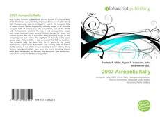2007 Acropolis Rally kitap kapağı