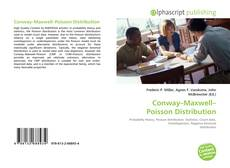 Bookcover of Conway–Maxwell–Poisson Distribution