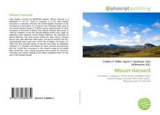 Обложка Mount Harvard