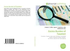 Excess Burden of Taxation kitap kapağı