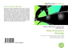 Обложка How to Survive a Marriage