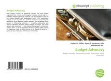 Bookcover of Budget Advocacy