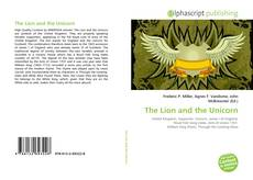 Bookcover of The Lion and the Unicorn