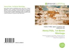 Bookcover of Henry Pole, 1st Baron Montagu