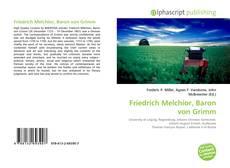Friedrich Melchior, Baron von Grimm的封面