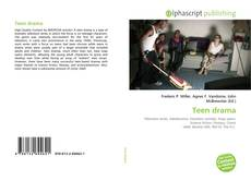 Buchcover von Teen drama