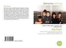 Capa do livro de Boy Player