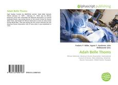 Bookcover of Adah Belle Thoms