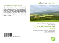 Couverture de Contrat Administratif en France