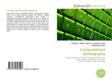 Computational photography kitap kapağı