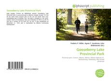 Capa do livro de Gooseberry Lake Provincial Park