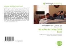 Обложка Nicholas Nickleby (2002 Film)