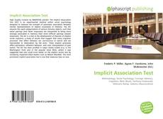 Implicit Association Test kitap kapağı