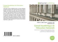Portada del libro de Conseil Académique de l'Education Nationale