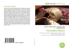 Capa do livro de Petrushka (Ballet)