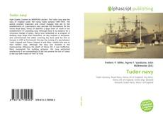 Bookcover of Tudor navy