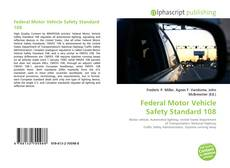Bookcover of Federal Motor Vehicle Safety Standard 108