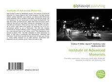 Copertina di Institute of Advanced Motorists