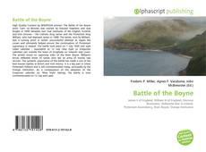 Capa do livro de Battle of the Boyne