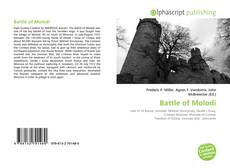 Battle of Molodi kitap kapağı